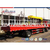 Quality 50T Truck Mounted Crane With Stable Performance and Mechnical Control for sale