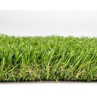 Quality Olive Green Polyethylene Commercial Artificial Grass For Landscaping / Park 40mm Dtex12000 for sale