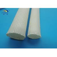 Best Uncoated Braided Fiberglass Sleeving for Carbon Brush , Soft and Eco-friendly wholesale