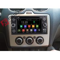 Quality Black Panel Ford Transit Dvd Player , Ford Fusion Dvd Player With Screen Mirroring Function for sale