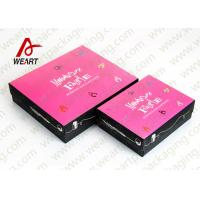 Buy White Card Paper Presentation Boxes Folding Feature CMYK Printing Insert at wholesale prices