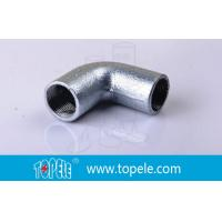 Buy BS4568 Conduit Fittings 25mm  Malleable Iron Solid Elbow , 90 Degree Pipe Bent at wholesale prices