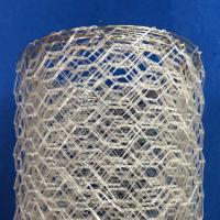 Quality Polyster Hexagonal Chicken Wire Netting for River / Gabion Wire Mesh for sale