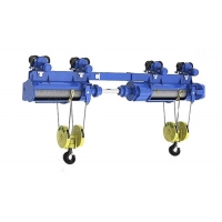 China Non Standard Customized 1t 3t 5t 10t Coaxial Double Hook Electric Hoist for sale