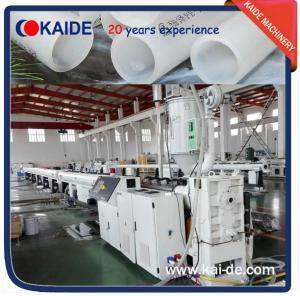 Plastic Pipe Extruder machine for PERT pipe 35m/min