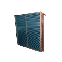 Quality 9.52mm Hydroponic Fin Type Heat Exchanger Leaking Proof for sale
