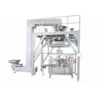Quality PLC Operated Food Packing Machine , Fully Automated Doypack Packing Machine For Stand Up Pouch Bag With Zipper for sale