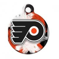 Quality Metal Pet Tags With Sport Team Logos , Custom Metal Dog Tags Round Shaped for sale
