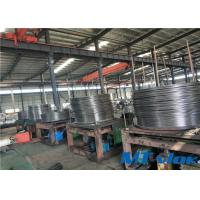 Quality ASTM B704 Alloy 825 Nickel Alloy Welded Coiled Tubing For Control Line for sale