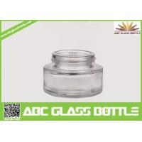 Quality Best Selling Foundation Bottle Glass Cosmetic Cream Container,Clear Skin Care Glass Bottle for sale