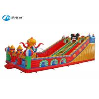 Quality Customized Inflatable Giant Mickey Slide Laser Printing Commercial Grade Giant for sale