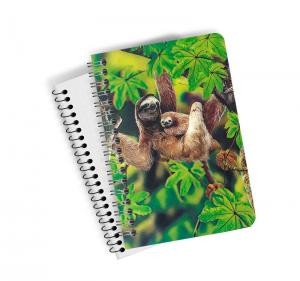 Quality Pretty Dogs And Cats 3D Lenticular Spiral Animal Notebook Covers With  A4,A5,A6 Size for sale