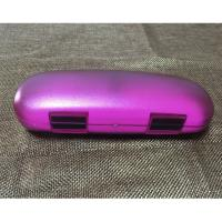 China Colorful PS Plastic Small Reading Glasses Case Portable OEM 155 X 66 X 38 mm on sale