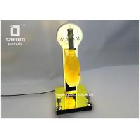 Best Champagne Bottle Glorifier Unique Rotating With Two Spotlight For Party Celebration wholesale