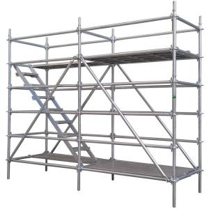 Quality Building Working Platform Layer lightweight Portable Aluminium Scaffolding tower Ringlock for sale