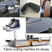 China 1.7m Automatic Fabric Cutting Machine Sneakers Leather Canvas Shoes Machine For Shoes on sale