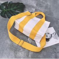 Quality Wholesale New fashion simple custom cotton canvas tote Cross-body bags for sale