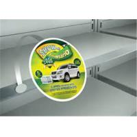 Quality Round Self Adhesive PVC Plastic Shelf Talkers For Supermarket Advertising for sale