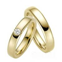 China 14k 18K yellow Gold Bride Jewelry Wedding Rings Anniversary Jewelry Bands JSHG227-Y on sale