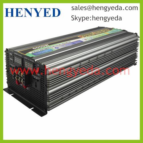 Buy 6000W 12000W Peak Modify Sine Wave Solar Power Inverter(HYD-6000W) at wholesale prices