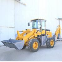 Quality 55KW Small  Backhoe Loader Articulated Hydraulic Steering System for sale