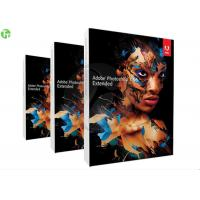 China 3D Artwork Adobe Graphic Design Software Photoshop CS 6 / CS 5 Standard Version on sale
