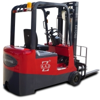 Self Loading 2.5T Sit Down High Capacity 3 Wheel Electric Forklift for sale