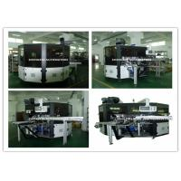 China PLC System Automatic Screen Printing Machine / Screen Printing On Bottles on sale