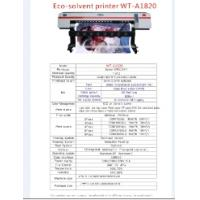 Quality special 1.8m eco solvent printer for sale
