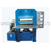 Quality Precision Relay Control Rubber Vulcanizing Press Machine With Simple Working Table for sale