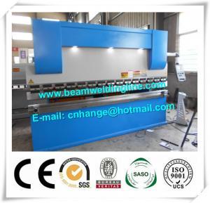 Quality NC Hydraulic Press Brake And Bending Machine 80T , Metal Sheet Brake Press Machine for sale