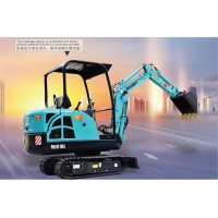 China 750mm 15rpm 6 Ton Multifunction Telescopic Excavator for sale