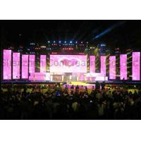 Quality P4.81mm Pixels Pitch Full Color Led Display Stage Rental 1R1G1B High Refresh Rate for sale