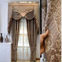 Buy cheap Living room curtain bedroom curtains blackout Chinese curtain from wholesalers