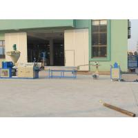 Quality PVC Plastic Recycling Equipment Conical Twin Screw Extrusion Pelletizing Line Durable for sale