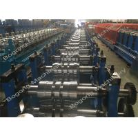 Quality Galvanized Steel Upright Highway Guardrail Roll Forming Machine Custom Design for sale