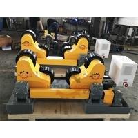 Quality Self Adjustable Welding Rotator Bed For Storage Tank And Vessel Piping System for sale
