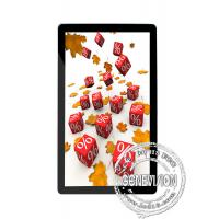 China 65 Inch Ultra - Slim Vertical LCD Display , Shinning Black LCD Media Player on sale