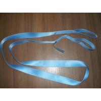 Quality Green 1200kg Polyester Endless Slings , Flat Single Use Lifting Slings for sale