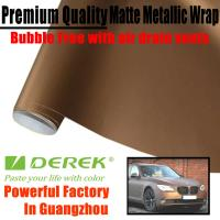 Quality Matte Metallic Car Wrapping Films - Matte Metallic Brown for sale