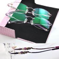 Quality Rimless Crystal Woman′s Eyewear (1004) for sale