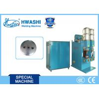 Best Auto Parts Welding Machine for Nuts on Air Tank Cover / Automobile Gasholder End Cover wholesale