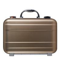 Quality Rose Golden Aluminum Alloy Attache Case With Size 300x200x90mm for sale