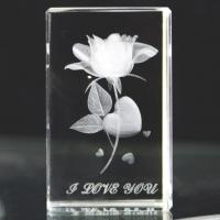 Buy Fashion 3D laser engraved crystal angel at wholesale prices