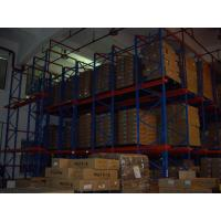 China both side access double - deep Drive In Pallet Racking for industrial storage on sale