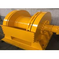 Buy Small Size Tower Crane Winch 6 Ton / 8 Ton With Special Drum Grooving at wholesale prices