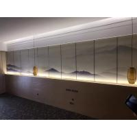 Quality Kenaf / PP Fiber Water Resistant Fiber Wall Panels Environmental Friendly For Building Decoration for sale