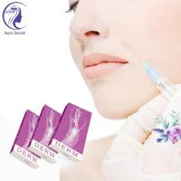Quality Cross linked injectable 1ML hyaluronate acid dermal filler for cosmetic surgery for sale