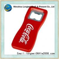 China OEM beer plastic bottle opener with promotion use 88mm x 35mm x 6mm on sale