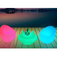 Buy cheap Modern Waterproof Illuminated Bar Tables Changing Light Bar Led Table Furniture from wholesalers
